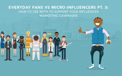 Everyday Fans vs Micro-Influencers Part 3: Supporting Influencer Marketing Campaigns